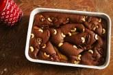 Gigantikus csokiszuflé körtével,recept