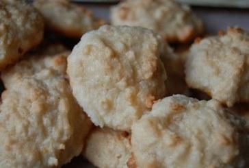 Marcipános kókuszos csók , recept