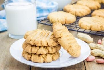 Villámgyors, omlós mogyoróvajas keksz – Csak három hozzávalóból, recept