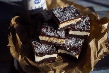 Bounty brownie, recept