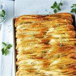 Különleges lapra sütött krumpli – Így eddig még nem készítetted, recept