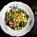 Mandarinos lencsesaláta, recept