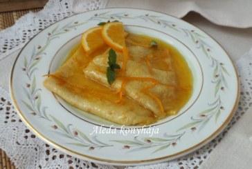 Narancsos palacsinta,recept