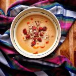Petrezselymes krumplikrémleves kúbásszal, recept