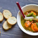 Hétvégi menü hős diétázóknak – Téli zöldségleves gazdagon , recept