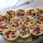 Egyszerű és gyors: Erdei gyümölcsös muffin – recept