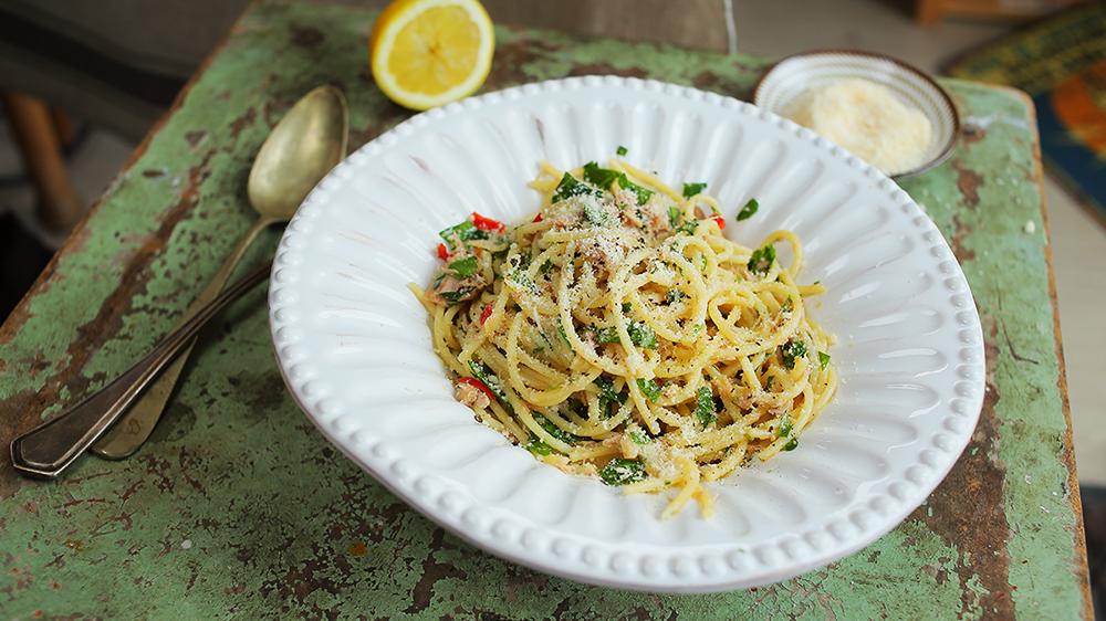 Chilis Tonhalas spagetti