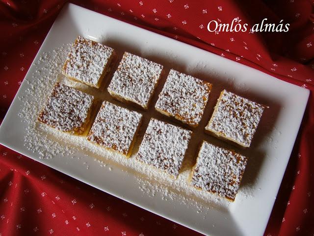 Omlós almás sütemény