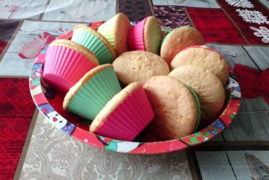 Vanília pudingos muffin ( finom: piskóta jellegű tészta), recept