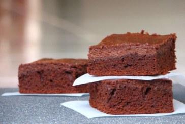 Csokis sajttortás brownie, recept