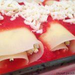 Cukkinis-paradicsomos lasagne tekercs, recept