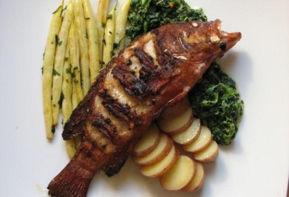 Epersügér hal pénteken sütve , recept