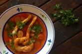 Falusi görcs leves, recept