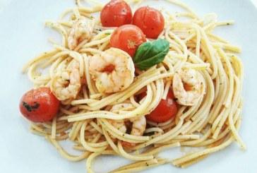 Ízletes Garnélás chilis spagetti, recept