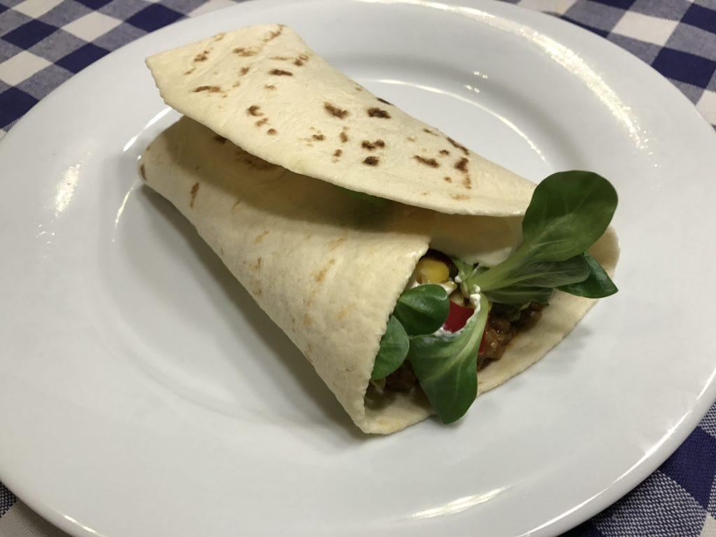 Mexikói chilis marha - interaktív wrap