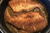 Paprikás lisztben sült keszeg, recept