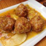 Albondigas (spanyol húsgombóc mártásban), recept