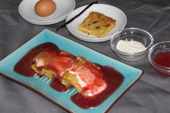 Birsalmaszószos francia toast, recept