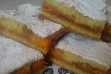 Remek barackos szelet – nagyi módra, recept