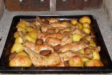 Csirkecomb pékné módra, recept