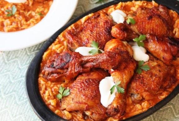 Hagyományos csirkepörkölt nokedlivel – recept