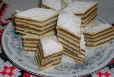 Hamis dobos torta, recept