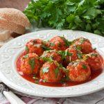 Klasszikus paradicsomos húsgombóc recept