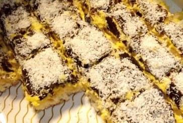 Kókuszálom sütemény, recept
