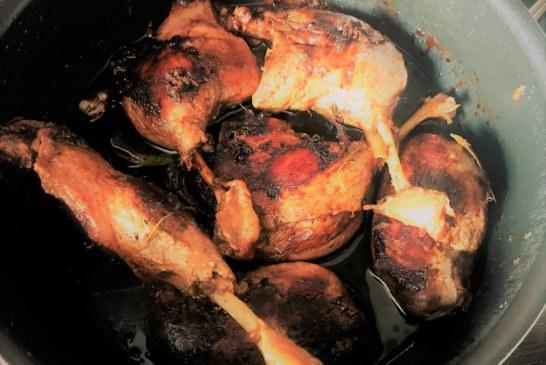Omlós Kacsasült , friss kakukkfűvel – recept