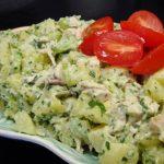 Petrezselymes-Tejfölös burgonyasaláta, recept
