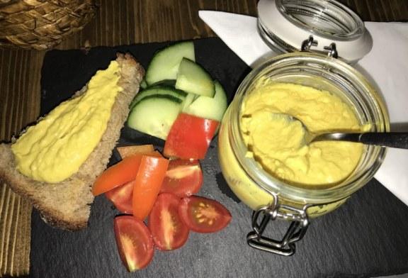 Currys Hummusz recept