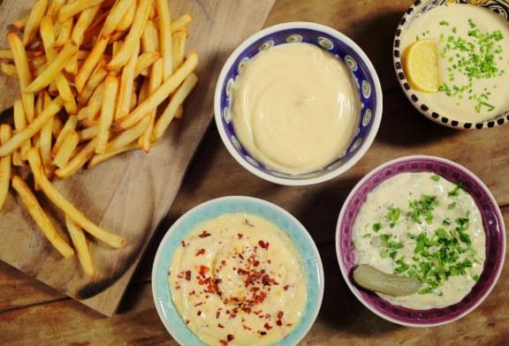 A Tökéletes - Házi majonéz + 3 mártás recept