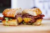 Igazi Amcsi – Szaftos Lüszi Burger