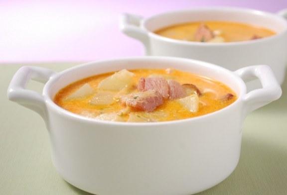 Igazi fúziós recept :) - Csülkös krumplileves
