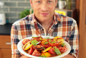 Jamie Oliver - Alap Paradicsom saláta receptje magyarul - videó