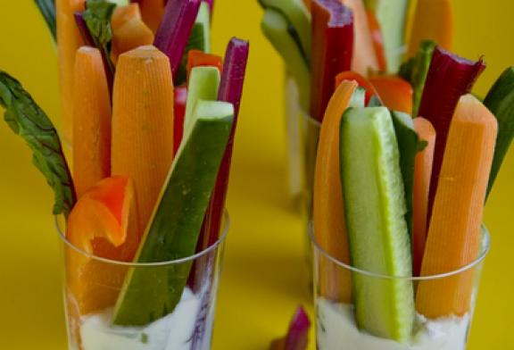 Húsmentes Hétfő – Sajtkrémes Zöldségek