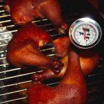 BBQ – Füstölt csirkecomb mártogatóssal