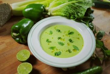 A Tuti Üdítő – Zöld Gazpacho