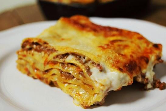 A tökéletes lasagne bolognese recept