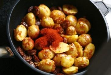 Burgonya riojai módra – Patatas a la riojana