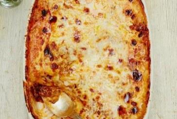 Jamie Oliver Lasagne recept -  Érdemes elkészíteni!