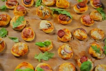 Újabb nyári party kaja – Mini pizzák különböző verziókban