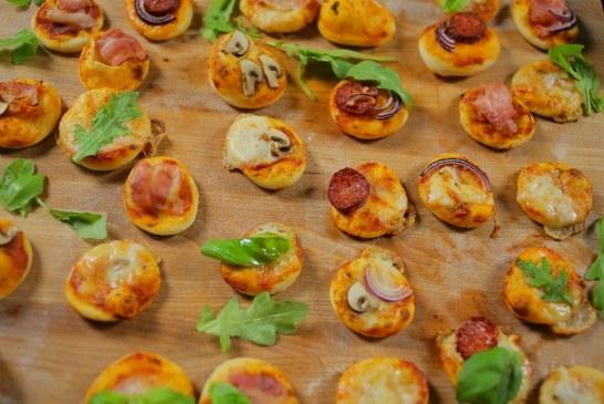 Újabb nyári party kaja - Mini pizzák különböző verziókban