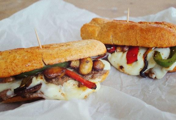 Philadelphia cheese steak szendvics - Szaftos és sajtos