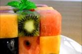 Így csinálj - Rubik kockát gyümölcsökből - Videó