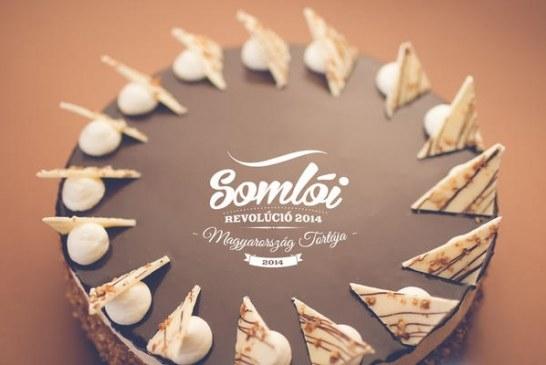 Somlói revolúció torta receptje - videóval
