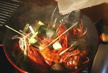 Tom Yam Gung - Thai leves