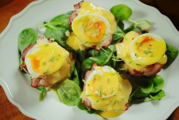 Benedict tojás kaláccsal – akár Húsvétra is