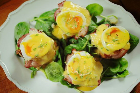 Benedict tojás kaláccsal - akár Húsvétra is
