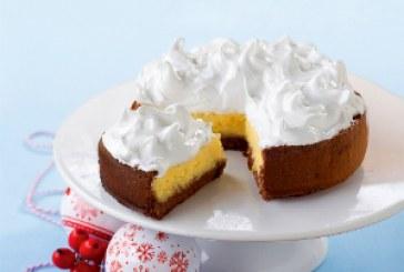 Last minute cukrászat: sütik 1 óra alatt -  Citromkrémes torta habsipkával